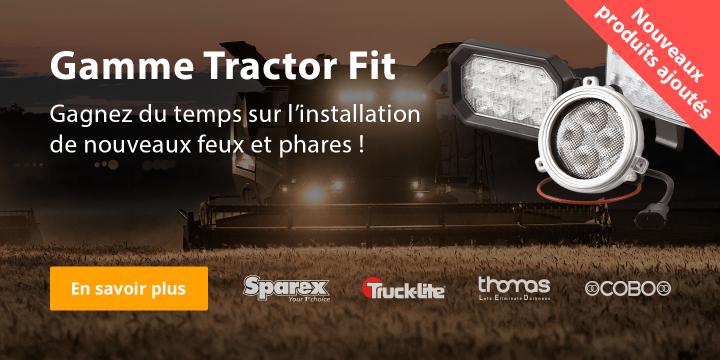 LED d'ajustement du tracteur